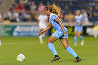 Chicago, IL - Wednesday Sept. 07, 2016: Casey Short during a regular season National Women's Soccer League (NWSL) match between the Chicago Red Stars and FC Kansas City at Toyota Park.
