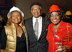 From left: Yvonne and Rufus Cormier with Mercedes Terry at the Houston Museum of African American Culture held at the Ensemble Theater Thursday Oct. 22,2009. (Dave Rossman/For the Chronicle)