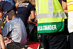 Medical Commander at scene of a mass casualty incident