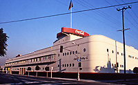 Los Angeles: Coca-Cola Bottling Co. 1936-37. (In 1986--an award for its conversion from bottling plant to office.)