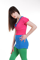 CANADA -  Feb 2010- Model Released photo of an 11 year old female teenager