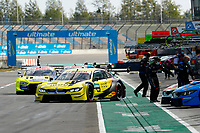 23rd August 2020, Lausitz Circuit, Klettwitz, Brandenburg, Germany. The Deutsche Tourenwagen Masters (DTM) race at Lausitz;  Timo Glock GER, BMW Team RMG, BMW M4 DTM