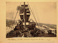 BNPS.co.uk (01202) 558833<br /> Pic: Charles Miller/BNPS<br /> <br /> Out on high seas<br /> <br /> A fascinating photo album compiled by a British naval officer on tour in the Far East at the turn of the 20th century has come to light.<br /> <br /> Taprell Dorling served on the HMS Terrible in 1900 at the start of an over 30 year career at sea.<br /> <br /> The album, containing 74 photos, has emerged for sale with auctioneers Charles Miller, of London, with an estimate of £3,000.