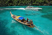 Praia em Ko Phi Phi.Tailandia. 2008. Foto de Caio Vilela.
