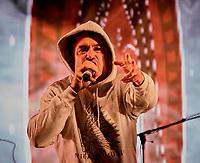 LOco L Locass et SAMIAN en spectacle, le 6 aout 2021 dans le cadre du Festival international Pre´sence autochtone 2021<br /> <br /> PHOTO :  Pierre Tran - Agence Quebec Presse