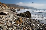United States of America, California, Monterey County, Big Sur: Beach at Andrew Molera State Park | Vereinigte Staaten von Amerika, Kalifornien, Monterey County, Big Sur: Kueste beim Andrew Molera State Park