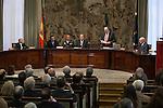 "XV edición ""Premio de Economía Rey Juan Carlos"" a D. Agustín Maravall Herrero at 'El Banco de España'. October 27, 2014. (ALTERPHOTOS/Emilio Cobos)"