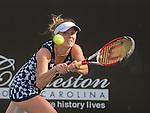 Belinda Bencic (SUI) defeats Elena Svitolina (UKR) 6-7, 6-4, 6-1 at the Family Circle Cup in Charleston, South Carolina on April 3, 2014.