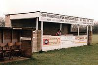 General view of Pirton FC, Pirton Recreation Ground, Walnut Tree Road, Pirton, Hertfordshire, pictured on 2nd November 1991