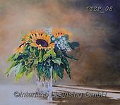 Franco, FLOWERS, BLUMEN, FLORES, paintings+++++,ITZP08,#f#, EVERYDAY