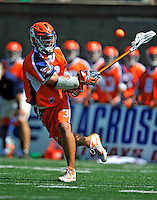 23 August 2008: Philadelphia Barrage Midfielder Roy Colsey scores Rochester's 13th goal against the Rochester Rattlers during the Semi-Finals of the Major League Lacrosse Championship Weekend at Harvard Stadium in Boston, MA. The Rattlers defeated the Barrage 16-15 in sudden death overtime, advancing to the upcoming Championship Game...Mandatory Photo Credit: Ed Wolfstein Photo