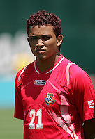 Amilcar Henriquez. Guadeloupe defeated Panama 2-1 during the First Round of the 2009 CONCACAF Gold Cup at Oakland Coliseum in Oakland, California on July 4, 2009.