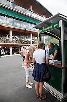 21-06-10, Tennis, England, Wimbledon, Atmosphere