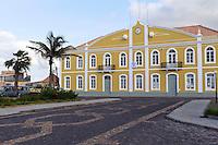 Rathaus in Ponta do Sol, Santo Antao, Kapverden, Afrika