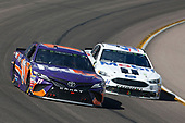 Monster Energy NASCAR Cup Series<br /> TicketGuardian 500<br /> ISM Raceway, Phoenix, AZ USA<br /> Sunday 11 March 2018<br /> Denny Hamlin, Joe Gibbs Racing, Toyota Camry FedEx Freight Kurt Busch, Stewart-Haas Racing, Ford Fusion Mobil 1/Haas Automation<br /> World Copyright: Matthew T. Thacker<br /> NKP / LAT Images