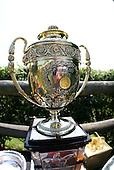 The iroquois trophy through fisheye lens.