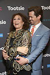 """Michele Lee and Andrew Rannells attends the Broadway Opening Night of """"Tootsie"""" at The Marquis Theatre on April 22, 2019  in New York City."""