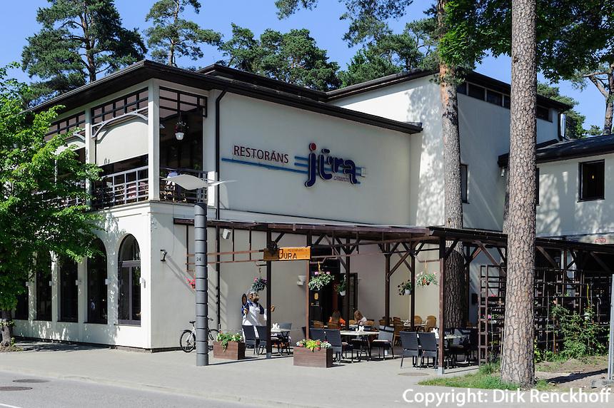 Restaurant Jura  in Jurmala-Majori, Lettland, Europa