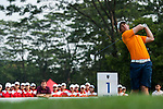 Zachary Bauchou of USA in action during day 3 of the 9th Faldo Series Asia Grand Final 2014 golf tournament on March 20, 2015 at Faldo course in Mid Valley Golf Club in Shenzhen, China. Photo by Xaume Olleros / Power Sport Images
