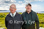 Enjoying a stroll in Blennerville on Tuesday, l to r: Dominic O'Brien and David Hegarty.