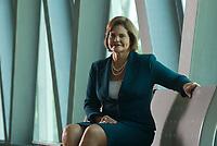 Entrevista com a govermadora do estado do Pará Ana Júlia Carepa fotografada no Hangar - Centro de Convenções da Amazônia.<br /> Fotos: Paulo Santos<br /> Data: 03/03/2010<br /> Local: Belém, Pará, Brasil.