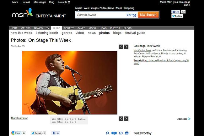 msn.com - Summer 2012