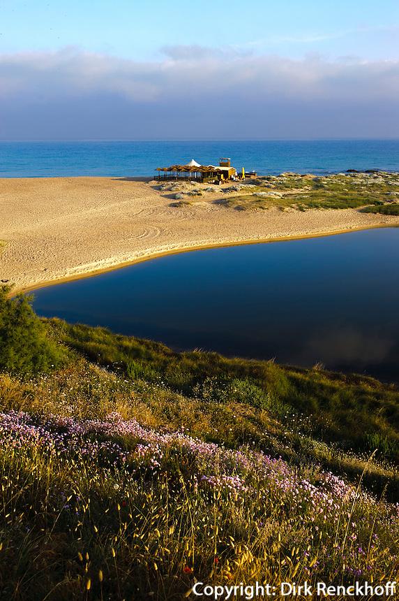 Strand von Badesi Mare, Provinz Olbia-Tempio, Nord Sardinien, Italien