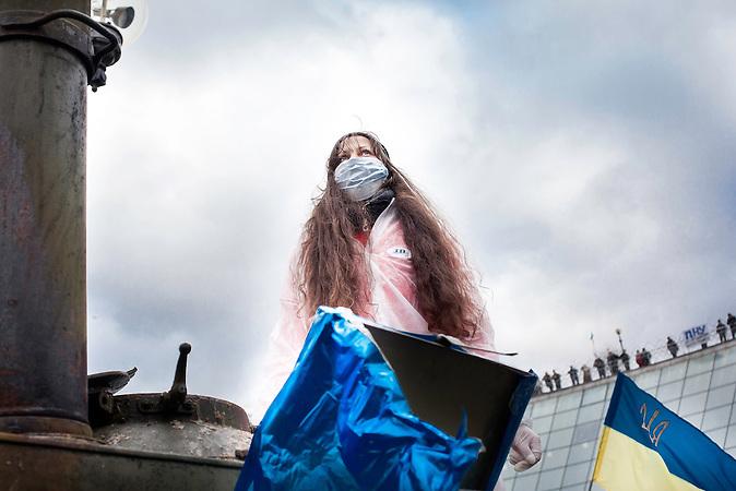 Pro EU Demonstrationen in Kiew,  05.12.2013 /  Pro European demonstrations in Kiev, 05.12.2013,