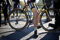 post-race legs<br /> <br /> U23 race<br /> Koppenbergcross 2015