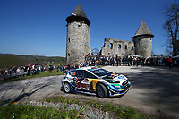 24th April 2021; Zagreb, Croatia; WRC Rally of Croatia, stages 9-16; Adrien Fourmaux - Ford Fiesta WRC WRC