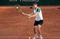 Paris, France, 30-05-2021, Tennis, French Open, Roland Garros, First round match:  Botic van de Zandschulp (NED)<br /> Photo: tennisimages.com