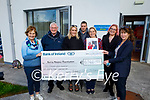 The Hillard family present a cheque for €6,546 in memory of Jessi Hillard to the Kerry Hospice on Friday. Front l to r: Mary Shanahan (Kerry Hospice) and Dr Patricia Sheehan. Back l to r: William, Isabelle, CJ Hillard, Julie Byrne and Sinead Hillard