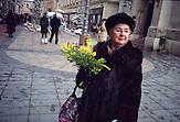 ?Diese Dame erinnerte mich an meine Großmutter. Was mich überraschte: Sie trug eine exklusive Handtasche des Kroatischen Designers Zigman.?  (Cvjetni Trg, Zagreb)