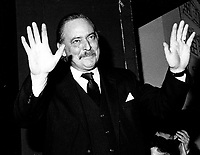 Montreal (Qc) CANADA, January 19, 1985 File Photo <br /> <br />  Jacques Parizeau is elected  Parti Quebecois new Leader<br /> <br /> Photo by Pierre Roussel / Images Distribution