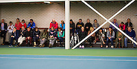 Rotterdam, The Netherlands, 07.03.2014. NOJK ,National Indoor Juniors Championships of 2014, 12and 16 years, fans<br /> Photo:Tennisimages/Henk Koster