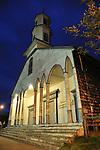 Iglesia de Dalcahue / Chiloé / Chile.<br /> <br /> Edición de 3   Víctor Santamaría.