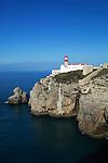 Portugal, Algarve, Cape St Vincent, Cabo de Sao Vicente: The Lighthouse, Europe's most powerful