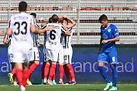 Mg Como 11/09/2021 - campionato di calcio serie B / Como-Ascoli / photo Image Sport/Insidefoto<br /> nella foto: esultanza gol Federico Dionisi