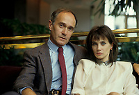 Warren Peace<br /> et Chloe Sainte-Marie (La GUEPE)<br /> au Festival des Films du Monde 1986 (date exacte inconnue)<br /> <br /> PHOTO : Agence Quebec Presse