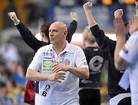 Handball Bundesliga Frauen - Playoff Finale um die deutsche Meisterschaft. Zum Hinspiel empfängt der Handballclub Leipzig (HCL) den Thüringer HC (THC). .IM BILD: THC Trainer Herbert Müller / Mueller .Foto: Christian Nitsche