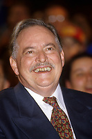 Montreal (QC) CANADA, October  1995 - File Photo -<br /> Parti Quebecois (PQ) Leader Jacques Parizeau during the 1995 Referendum campaign.<br /> <br /> Photo by Pierre Roussel / Images Distribution
