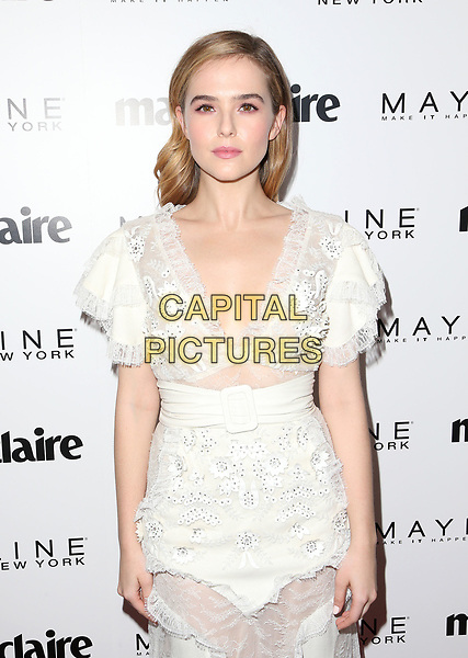 WEST HOLLYWOOD, CA - April 21: Zoey Deutch, At Marie Claire's Fresh Faces At Doheny Room In California on April 21, 2017. <br /> CAP/MPI/FS<br /> ©FS/MPI/Capital Pictures