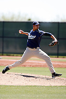 Eduardo Perez - San Diego Padres - 2009 extended spring training.Photo by:  Bill Mitchell/Four Seam Images
