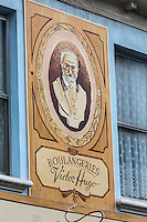 Royaume-Uni, îles Anglo-Normandes, île de Guernesey, Saint-Samson /: Boulangerie Victor Hugo / United Kingdom, Channel Islands, Guernsey island, St-Samson:bakery: Boulangerie Victor Hugo