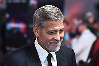 LONDON, ENGLAND - OCTOBER 10: George Clooney attending 'The Tender Bar' Premiere - the 65th BFI London Film Festival at The Royal Festival Hall on October 10, 2021, London, England.<br /> CAP/MAR<br /> ©MAR/Capital Pictures