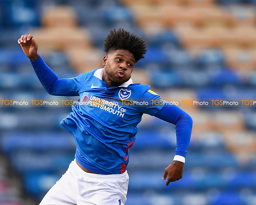 Ellis Harrison of Portsmouth during Portsmouth vs Doncaster Rovers, Sky Bet EFL League 1 Football at Fratton Park on 17th October 2020
