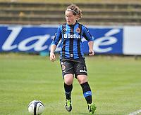 Club Brugge Dames B : Celine Vandekerckhove.foto DAVID CATRY / Nikonpro.be