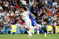 Marcelo of Real Madrid during the Champions League group B soccer match between Real Madrid and FC Basel 1893 at Santiago Bernabeu Stadium in Madrid, Spain. September 16, 2014. (ALTERPHOTOS/Caro Marin) /NortePhoto.com