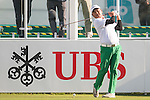 Danny Chia of Malaysia tees off the first hole during the 58th UBS Hong Kong Open as part of the European Tour on 08 December 2016, at the Hong Kong Golf Club, Fanling, Hong Kong, China. Photo by Marcio Rodrigo Machado / Power Sport Images