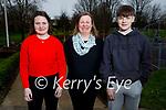The O'Regan family enjoying a stroll in the Listowel town park on Sunday, l to r: Tara, Kathleen and Oisin O'Regan.